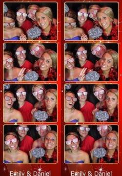 Photo Booth Strip wedding dj erie