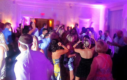 Up lighting Wedding DJ Shawn Steele Erie, PA