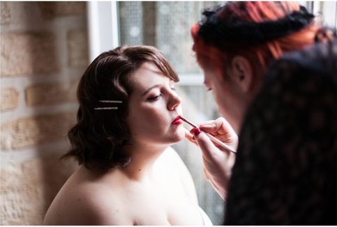 vintage makeup artist geelong