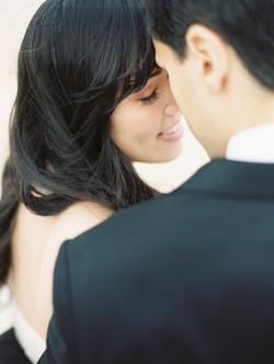 Blushing bridal
