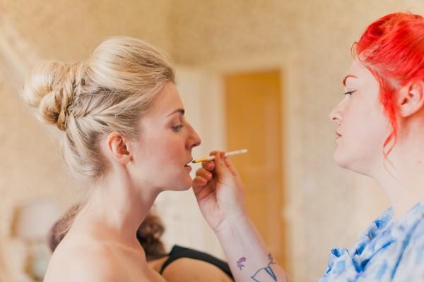 vintage makeup artist