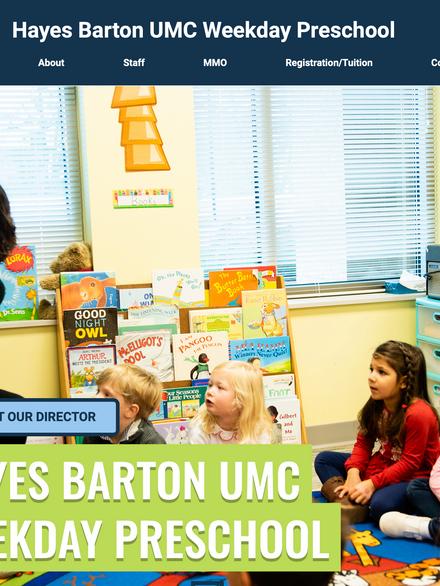 Hayes Barton United Methodist Preschool