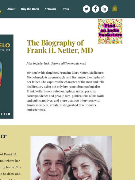 Medicine's Michelangelo | Francine Mary Netter, Author