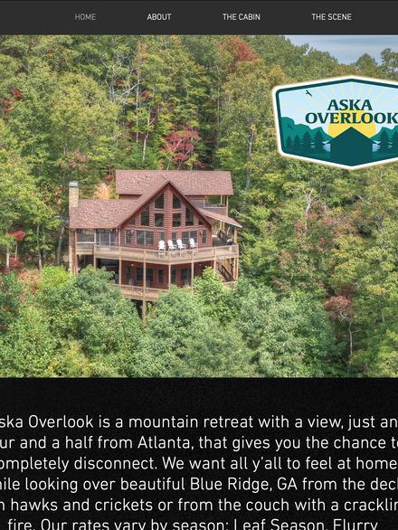 Aska Overlook | Georgia Mountain Vacation Rental
