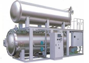 高温殺菌!高温高圧調理殺菌装置フレーバーエース熱水貯湯式