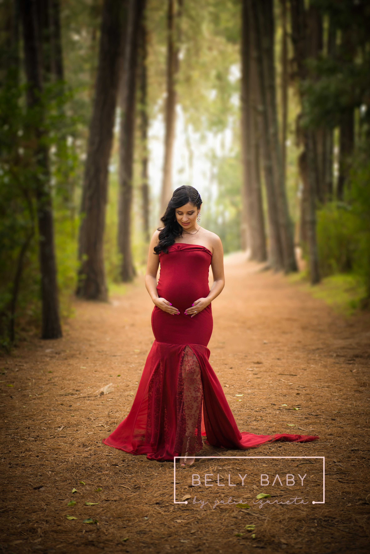 Sesión fotográfica de embarazo