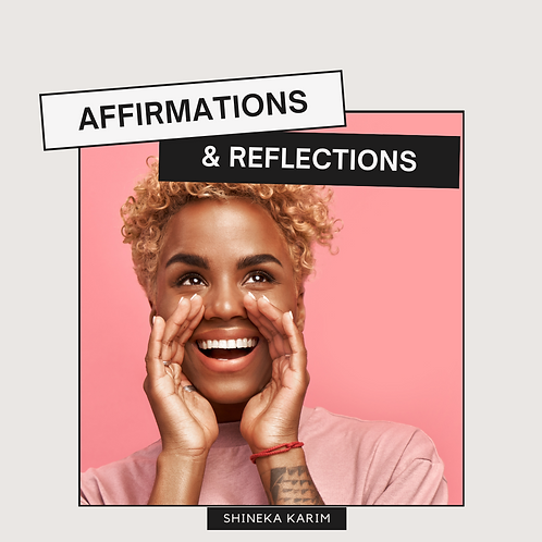 Affirmations & Relections Worksheets