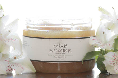 Island Coconut Cream Sugar Scrub