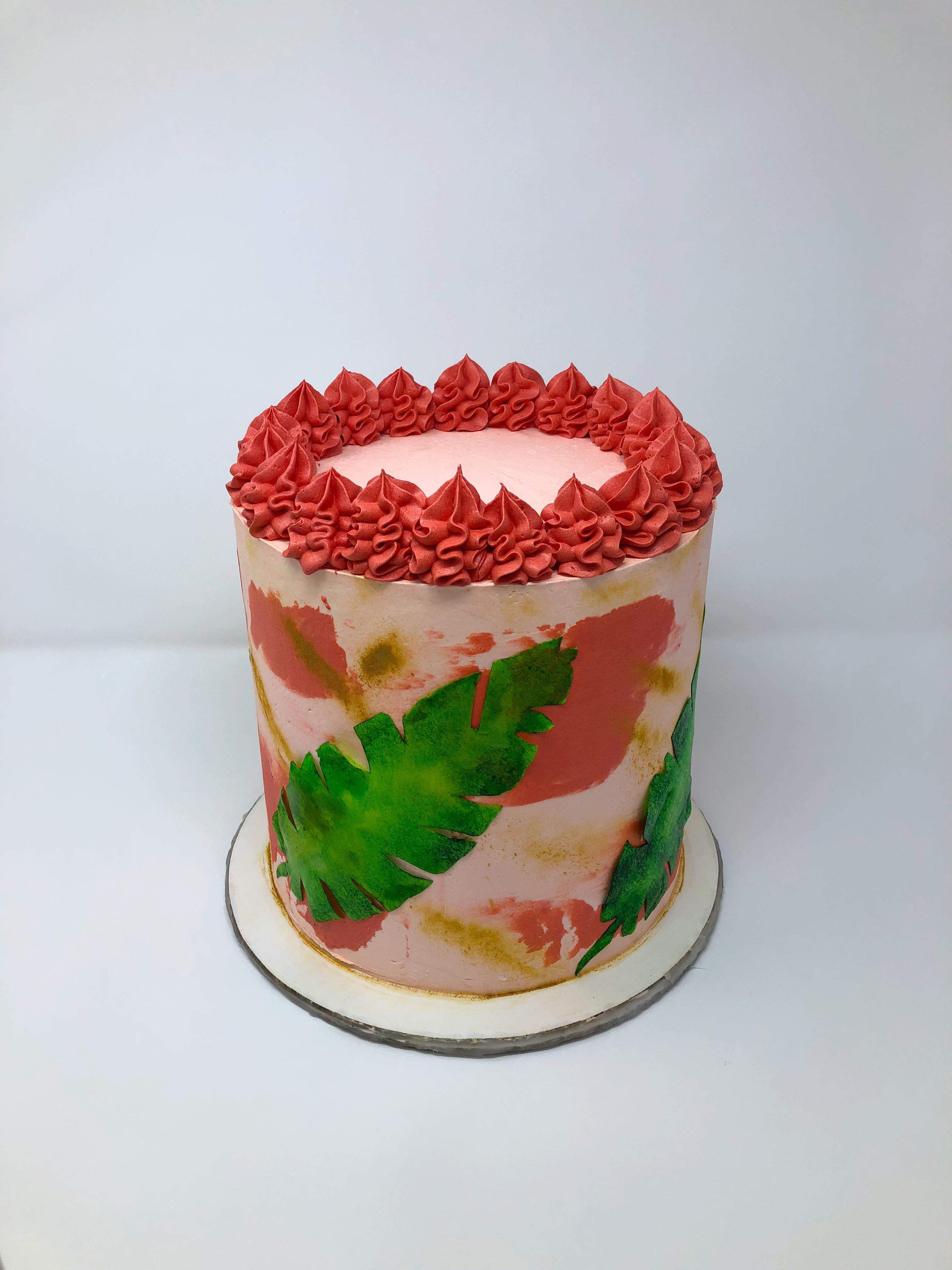 Havana Nights Themed Cake