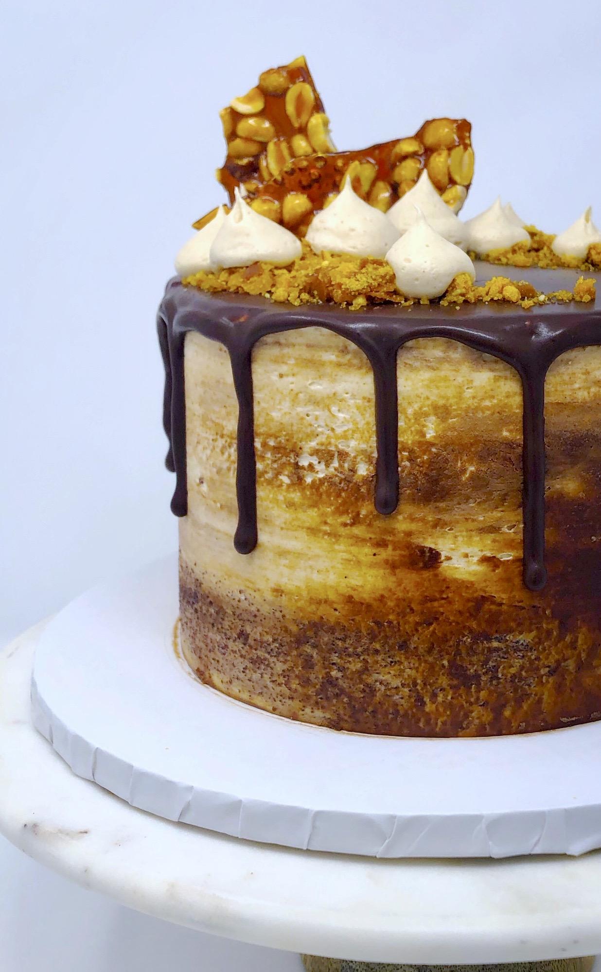 Signature Chocolate PB Cake