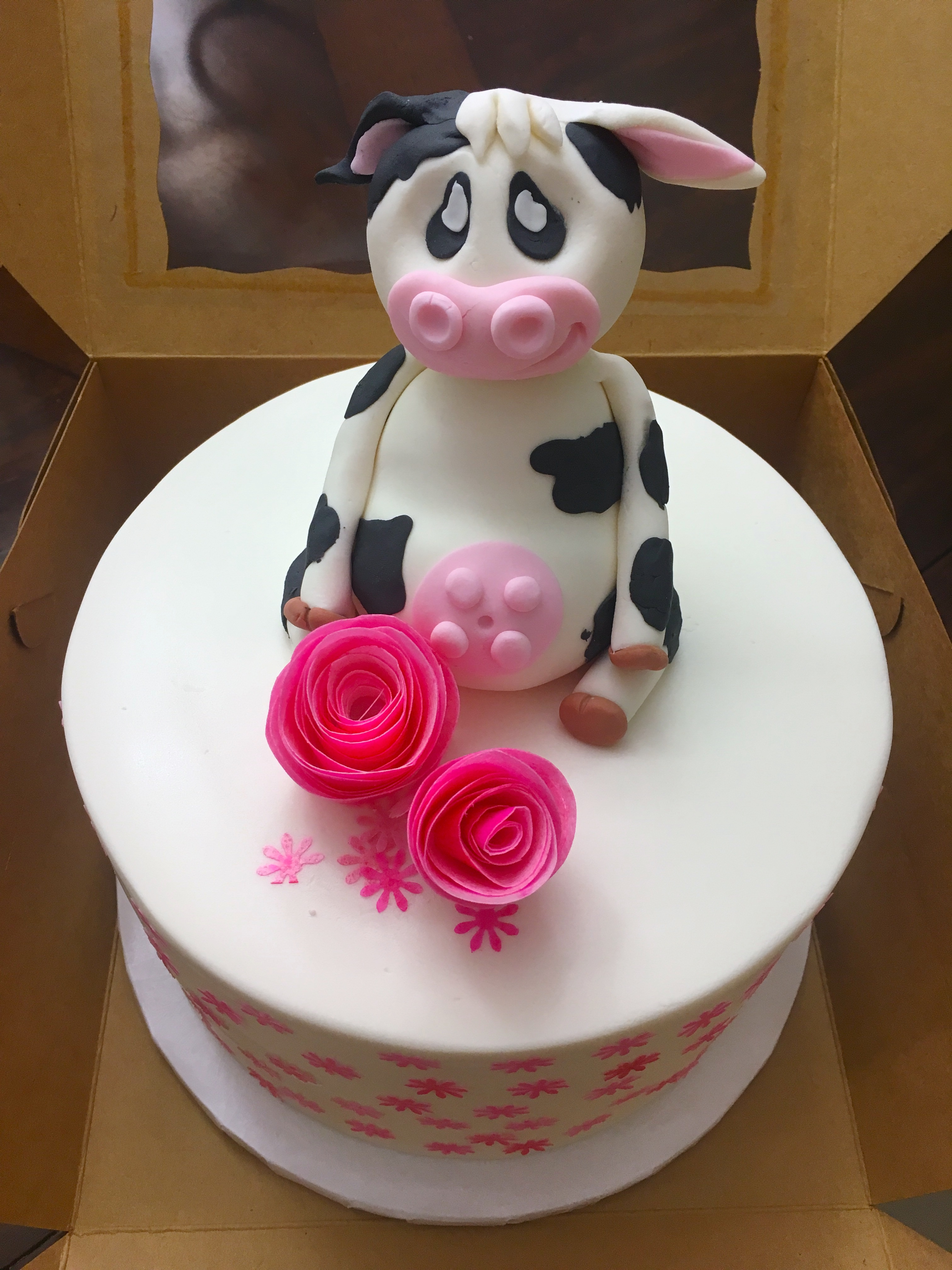Precious Moments Themed Cake