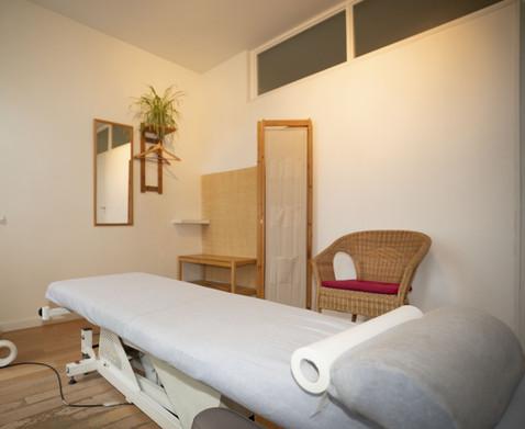 Cabinet CS Osteo Paris - table Osteopathie