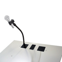 Microphone Holder with Universal Clip Module