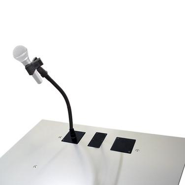 Support de microphone avec clip universelle