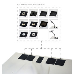 Urbann lectern Y55 top plate options eng