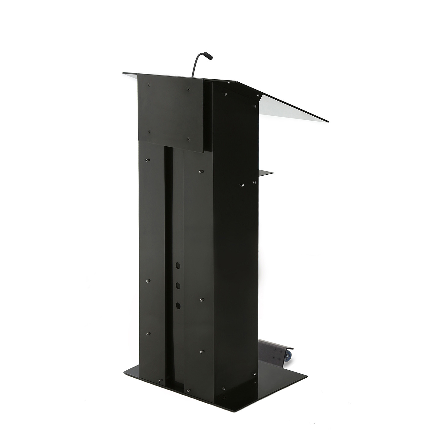 Urbann K3 lectern with wheels side