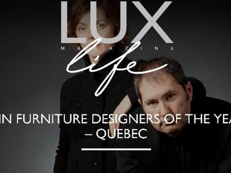 Designer Awards - UK: Urbann is Furniture Designers of the Year 2019
