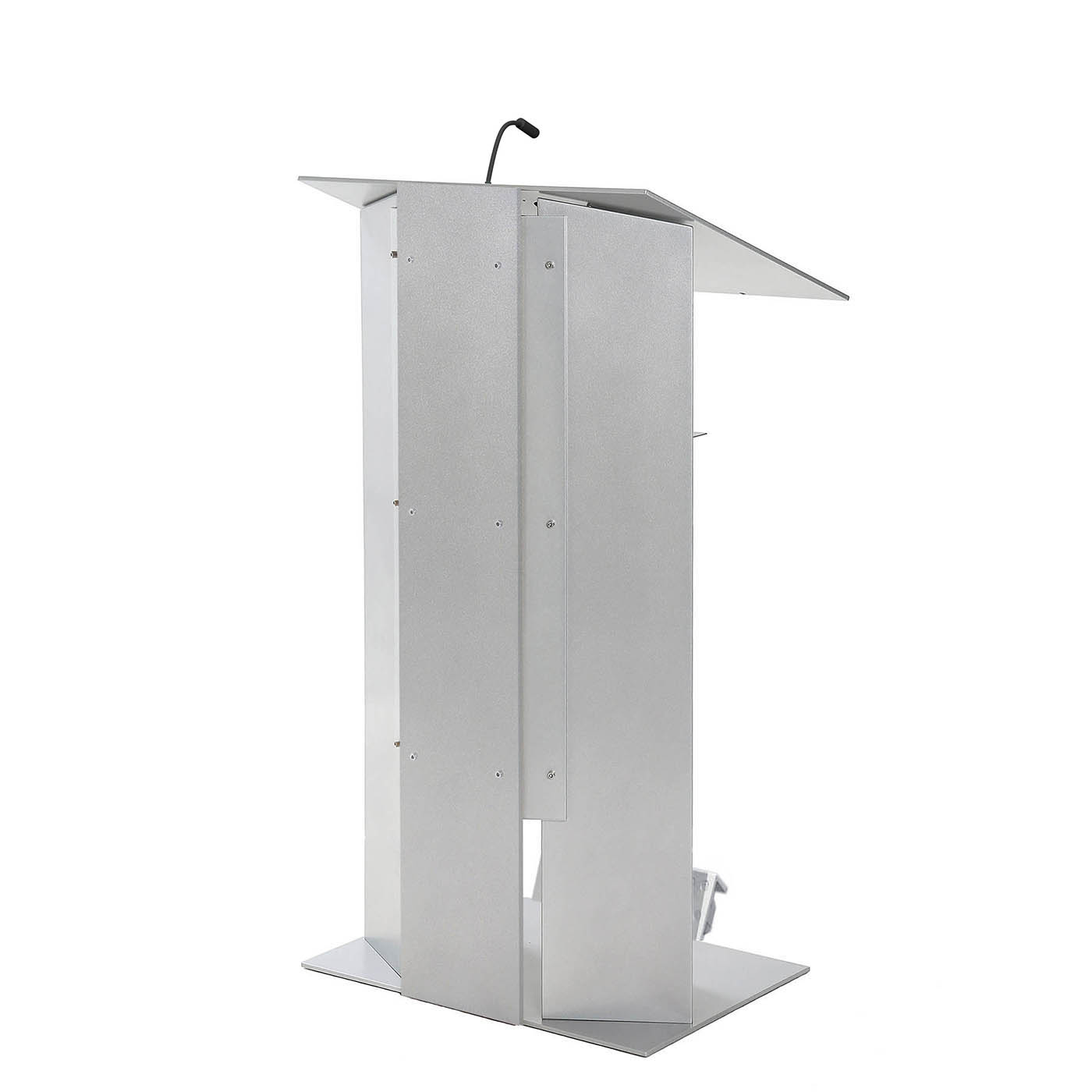 Urbann K6 lectern with wheels side alu