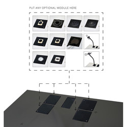 Urbann lectern new top plate options CO1 eng