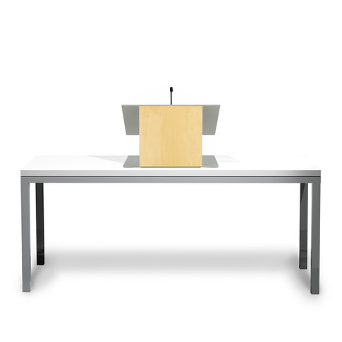 K9 Tabletop Lectern - Natural
