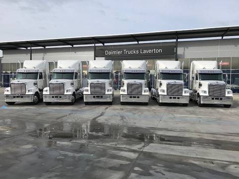 Fleet expansion - Freightliner takes the lead