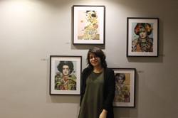 Mila González, artista ensamble