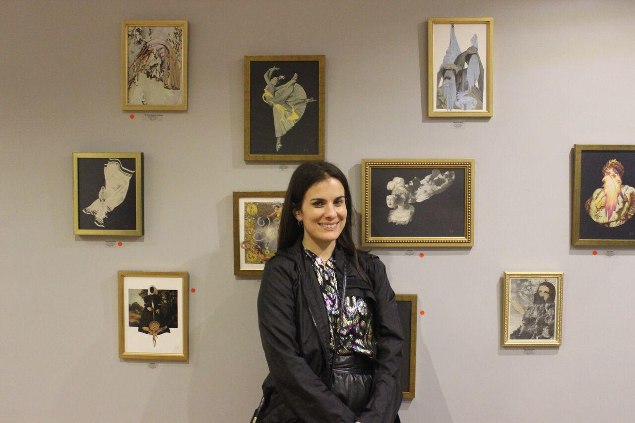 Celine Reymond, artista ensamble