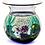 Thumbnail: Murano Aquarium Fish Jellyfish Bowl Art Glass Sculpture Elio Raffaeli