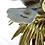 Thumbnail: XL Oggetti Managani Porcelain Lion Fish Art Sculpture 24k Gold Dipped