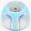 Thumbnail: Baccarat Double Overlay Millefiori Mushroom Art Glass Pape