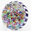 Thumbnail: Parabelle Stave Basket Millefiori Canes Art Glass Paperweight