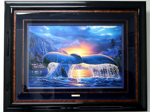 "Christian R. Lassen ""Emperor's Dawn"" 75/1000 Limited Edition Painting"