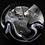 Thumbnail: Giant Caithness Stunner Art Glass Paperweight