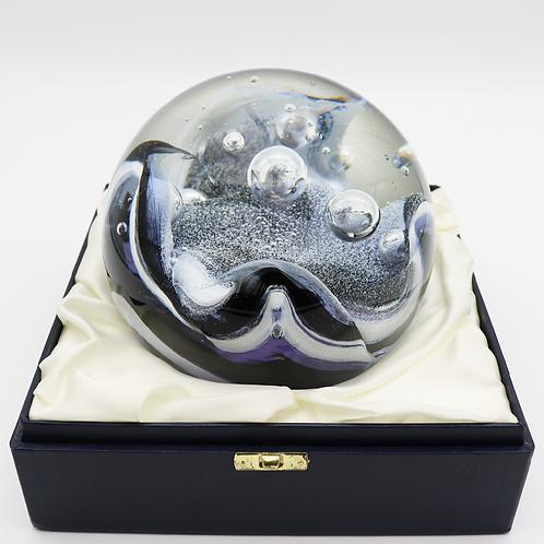 Giant Caithness Stunner Art Glass Paperweight