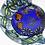 Thumbnail: Milon Townsend Coral Reef Implosion Mermaid Art Glass Sculpture