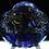 Thumbnail: Large and Heavy Murano Aquarium Fish Art Glass Sculpture Signed