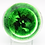 Thumbnail: Delmo Tarsitano Colourful Bee & Strawberry Art Glass Paperweight