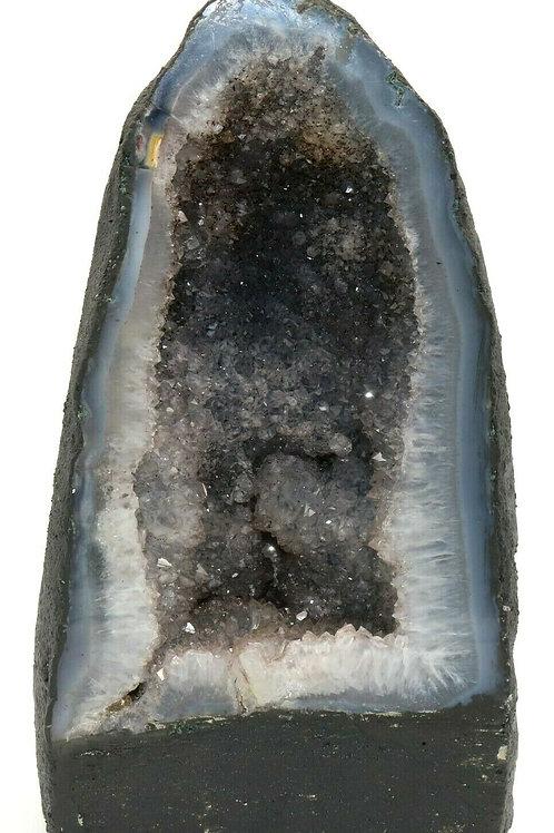 Magnum Amethyst Crystal Geode Cathedral Mineral Specimen Sculpture