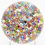 Thumbnail: Baccarat Church Zodiac Close Pack Millefiori Art Glass Paperweight