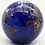 Thumbnail: Lundberg Studios Glass World Globe Art Glass Paperweight with COA & Box