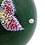 Thumbnail: Baccarat Pink Butterfly Art Glass Paperweight w/Box
