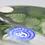 Thumbnail: XL Scott Beyers Beta Fish Aquarium Orient & Flume Art Glass Vase