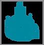 Schmuckzeichen Wassenberg blau ohne Schr