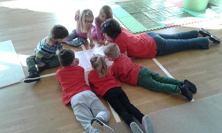 story telling, pre-school