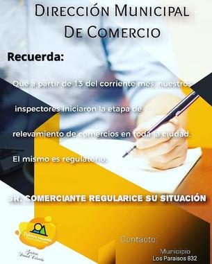 DIRECCIÓN MUNICIPAL DE COMERCIO