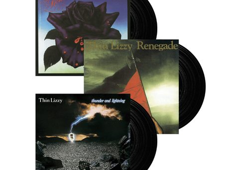 More Thin Lizzy Vinyl Reissues to be Released on 20th March 2020