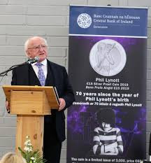 Philip Lynott Commemorative Coin