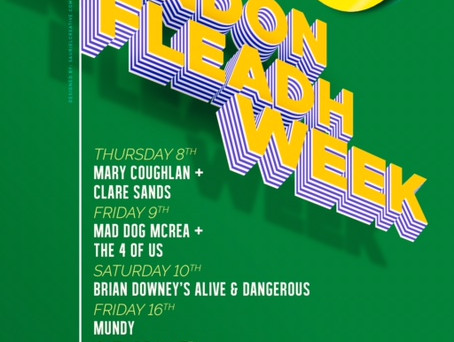 London Fleadh week ARE YOU READY!?