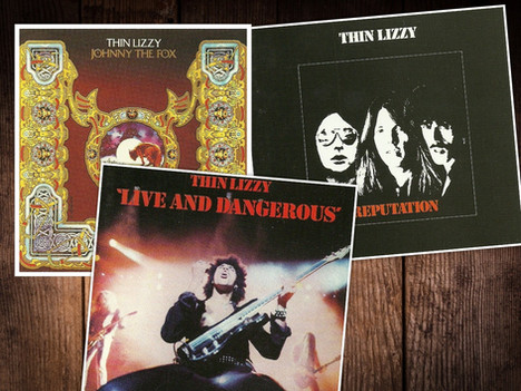 Three more Thin Lizzy albums to be reissued on February 24th 2020