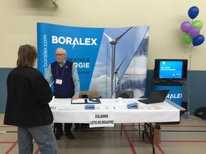 Boralex et Gaz Métro déposent trois soumissions pour des projets éoliens